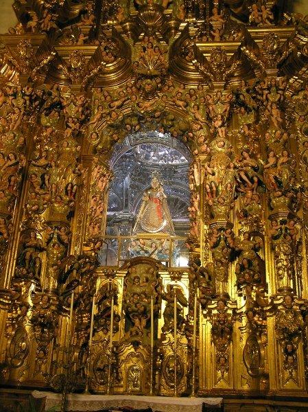 Camarín de la Iglesia de Santo Domingo