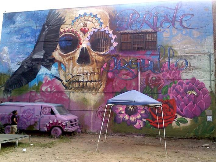 Grafitis históricos de El Niño de las Pinturas