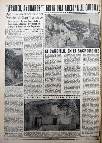Visita de Franco