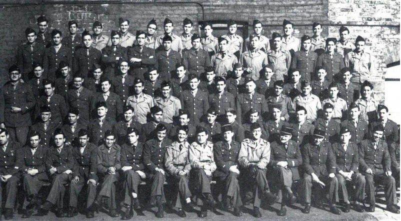 La Nueve, en Inglaterra, antes del desembarco en Normandia