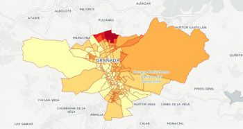 La abstención en Granada capital fue mayor que la registrada en las elecciones del 20. En distritos como Norte es la opción preferida en todos los colegios electorales.