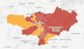 ¿Cuáles son los colegios de Granada capital que prefieren al PSOE frente a Ciudadanos y viceversa? Consulta el mapa interactivo.