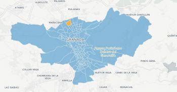Sólo en un colegio de Norte, el ubicado en el Parque de Bomberos, donde vota el entorno del Recinto Ferial de Almanjáyar, Ciudadanos consigue más votos que el PP en Granada capital.