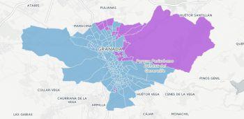 ¿En qué colegios de Granada capital los vecinos prefieren a Unidos Podemos sobre el PP? La respuesta, en el mapa interactivo.