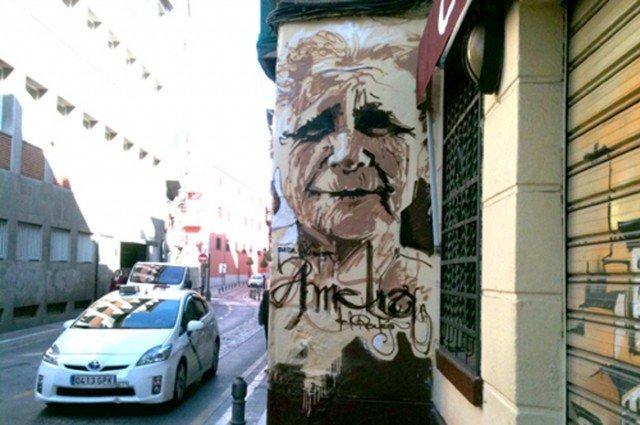 Amelia, por el Niño de las Pinturas, calle Pavaneras, Realejo