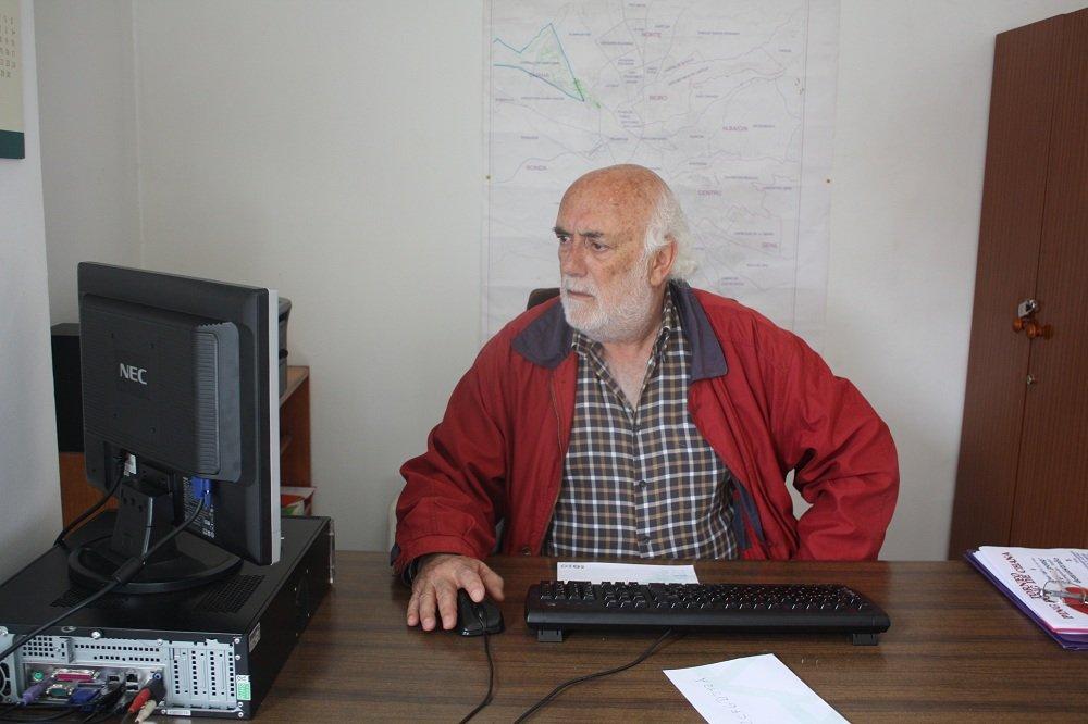 Matías Muñoz, presidente de la Asociación de Vecinos Cerrillo de Maracena-Los Barrios