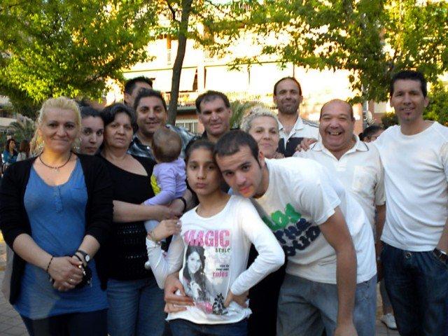 Familia de Antonia y Enrique