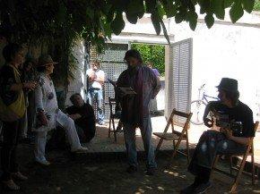 Lectura poemas en el homenaje a Morente