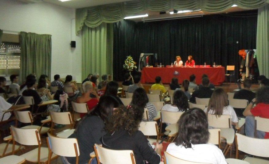 Sesión de cine y empleo en el IES Severo Ochoa