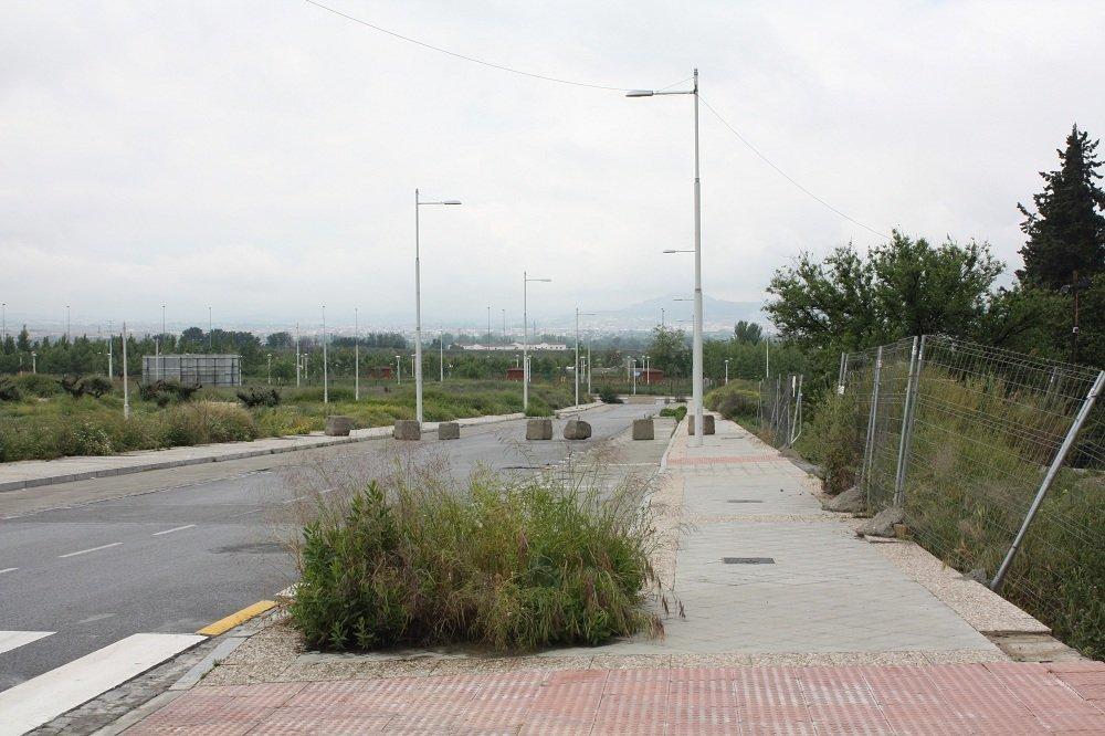 Bulevar de Las Perlas, en la Chana
