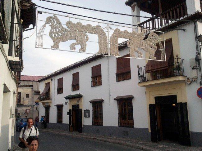 Fiestas Albaicín, alumbrado
