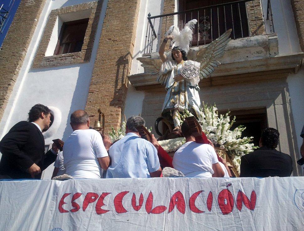Patrón San Miguel ermita Albaicín
