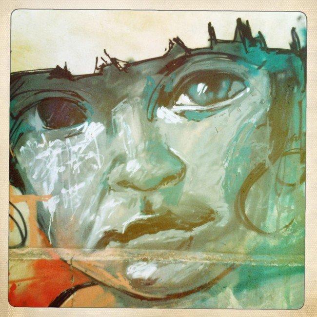 Grafiti Niño de las Pinturas Realejo Granada