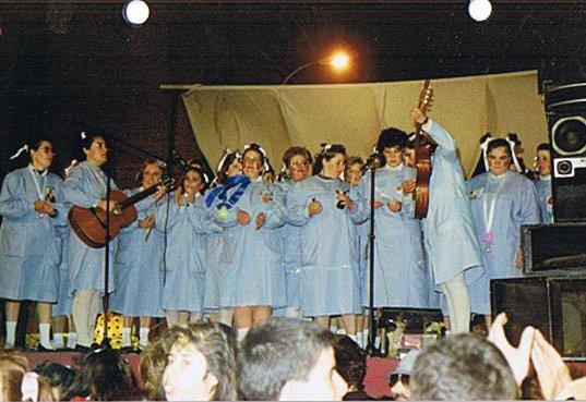 Agrupación carnavalesca del Zaidín.