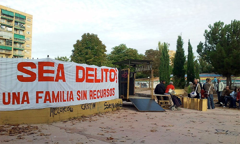Plataforma Zona Norte en el Parque 28 de febrero
