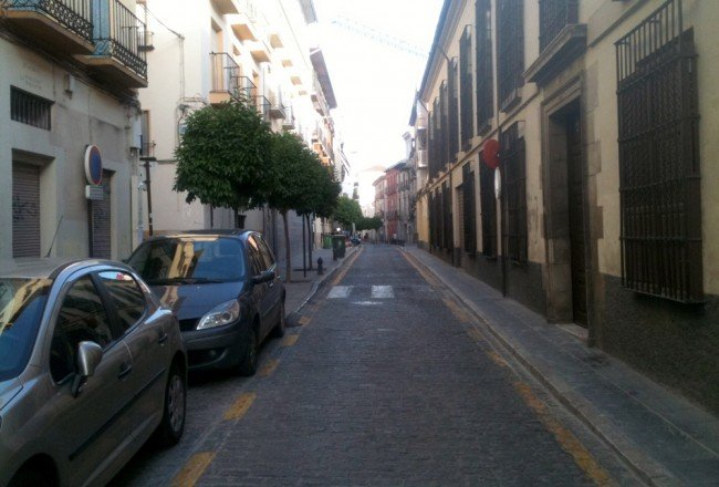 Calle Santiago, Realejo, Aparcamiento, Parking