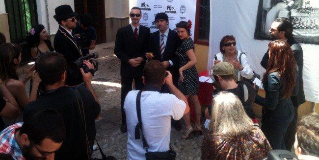 fotos no inauguración Centro Cívico Realejo
