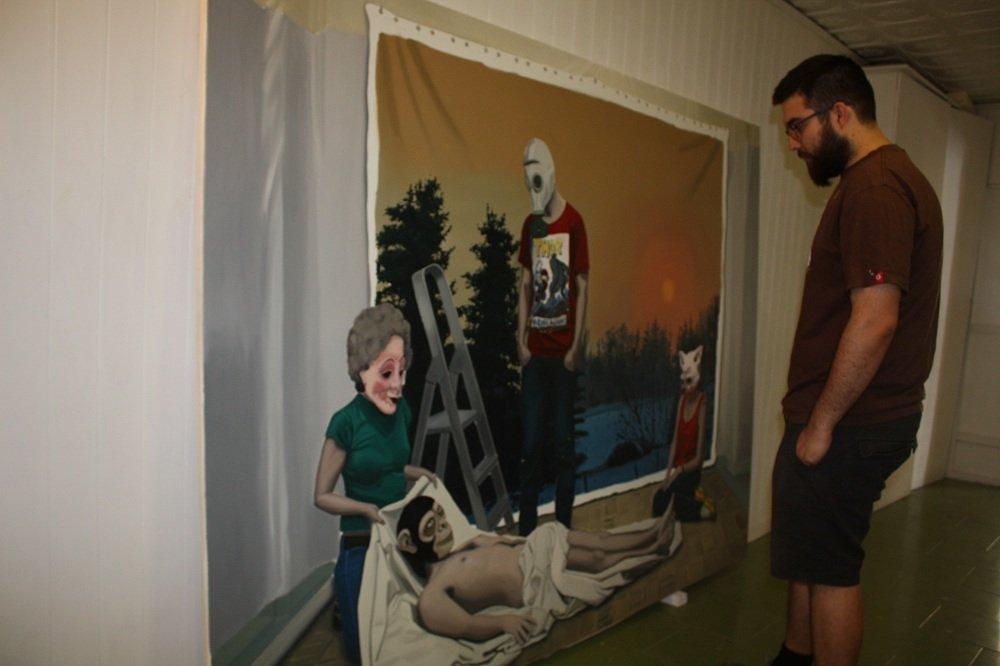 Exposición 'Sin fin' en TRN