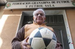 El que fuera presidente de la Federación Granadina de Fútbol, Miguel Prieto.