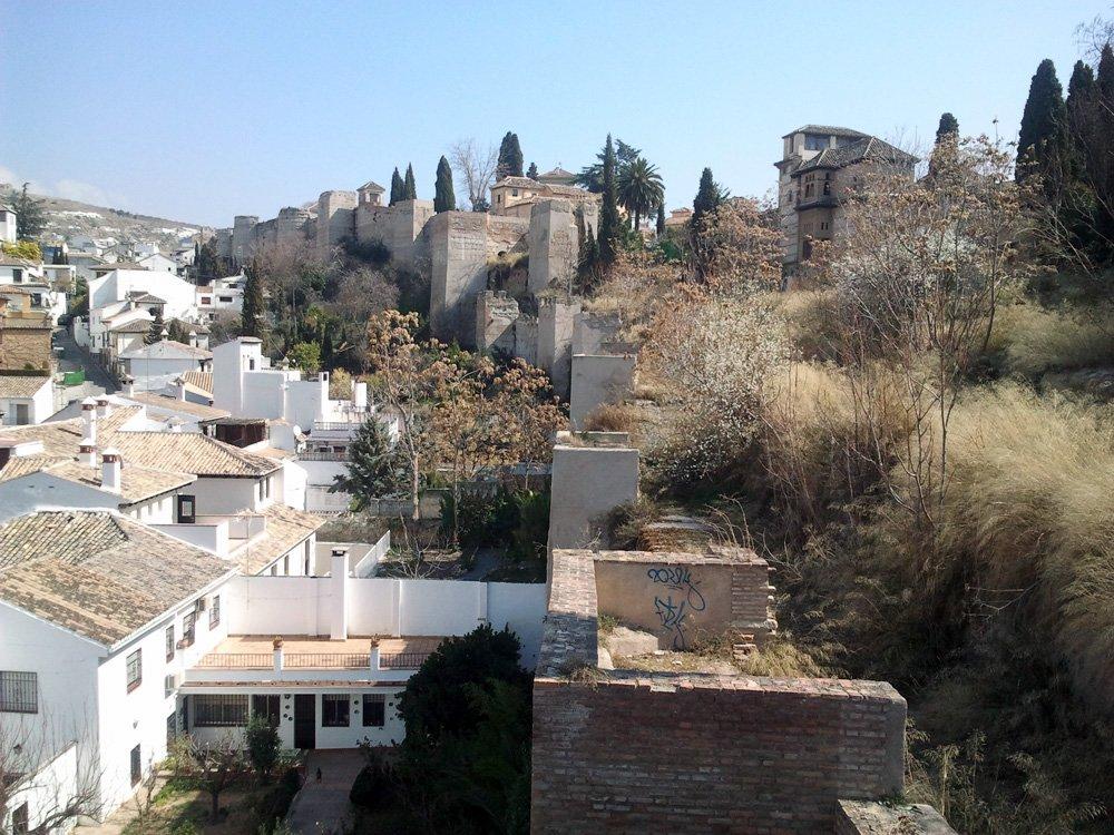 Muralla-zirí Albaicín Granada