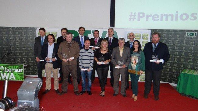 Premiados en los Premios Mejores Webs Andaluzas de Cibersur 2012