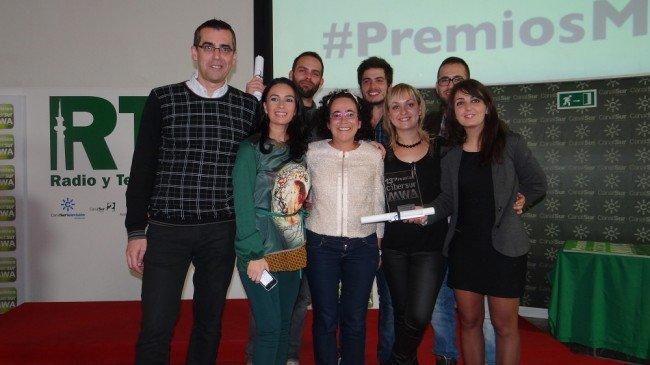 El equipo de GranadaiMedia junto a los compañeros de Nxtmedia.