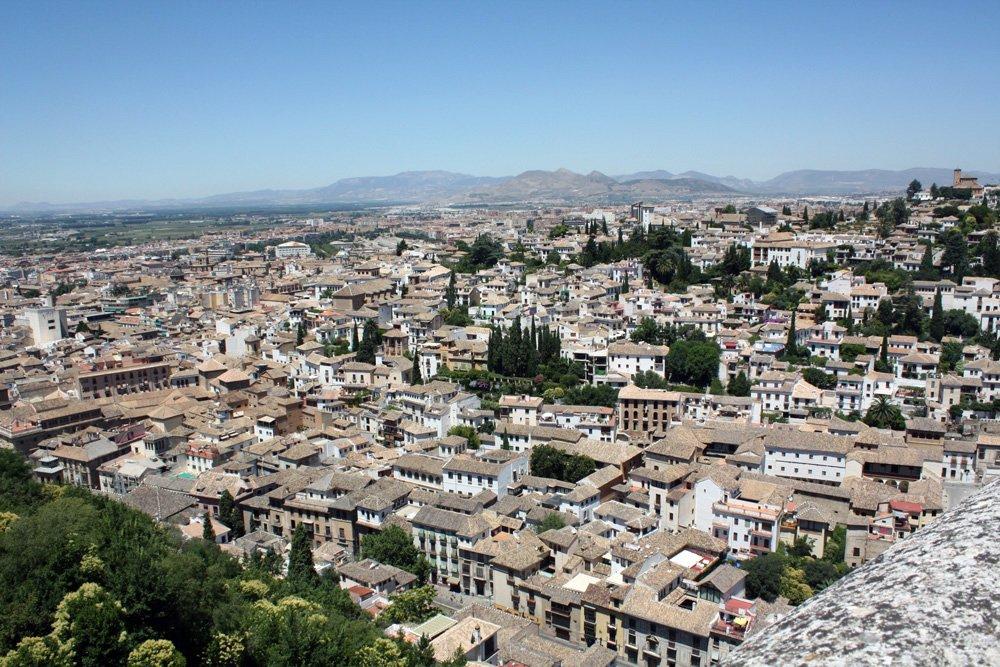 Vista-Albaicín