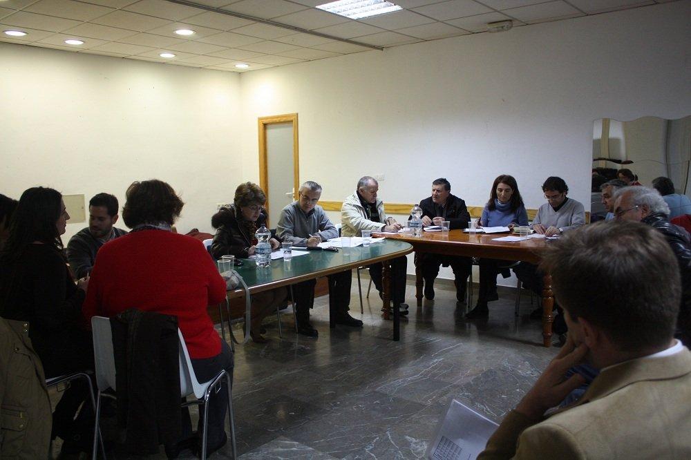 Junta municipal de distrito de la Chana, marzo de 2013