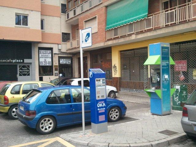 Zona Azul Calle Sol