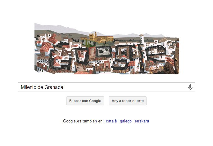milenio de granada doodle google