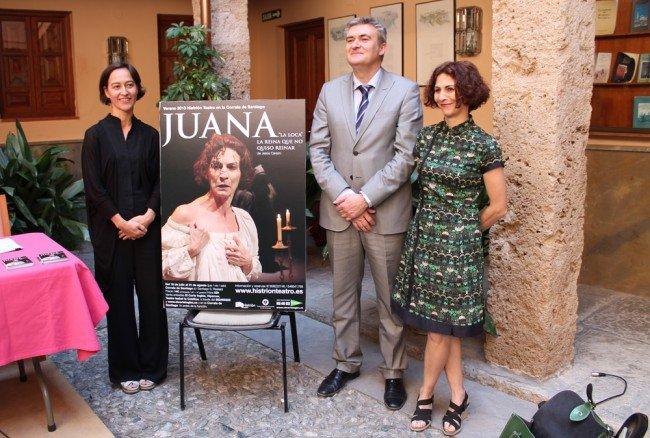 Nines Carrascal, Andrés Navarro, Gema Matarranz, Histrión Teatro, Corrala de Santiago