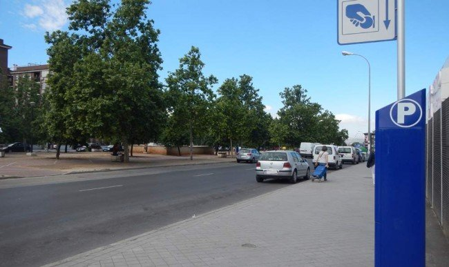 calle tete montoliu zona norte granana zona azul