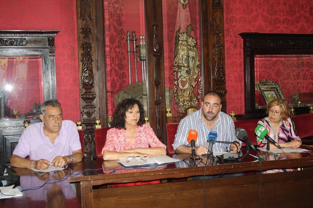 Francisco Puentedura, IU, Asociación de Vecinos del Bajo Albaicín