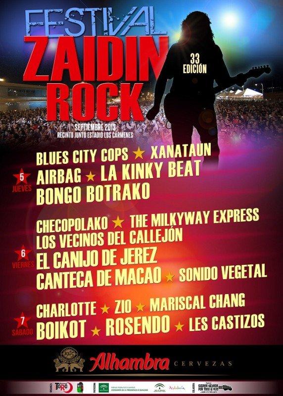 festival de rock del zaidin