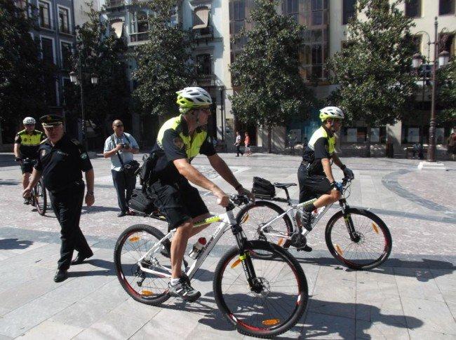 Unidade de Polícia local Ciclista Granada
