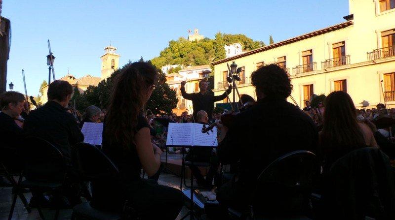 OCG, Plaza Nueva, música, Torre de la Vela