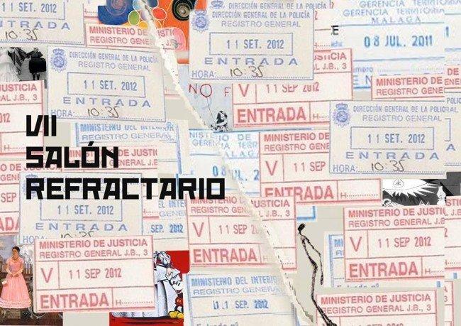 Cartel del VIII Salón Refractario de Granada.
