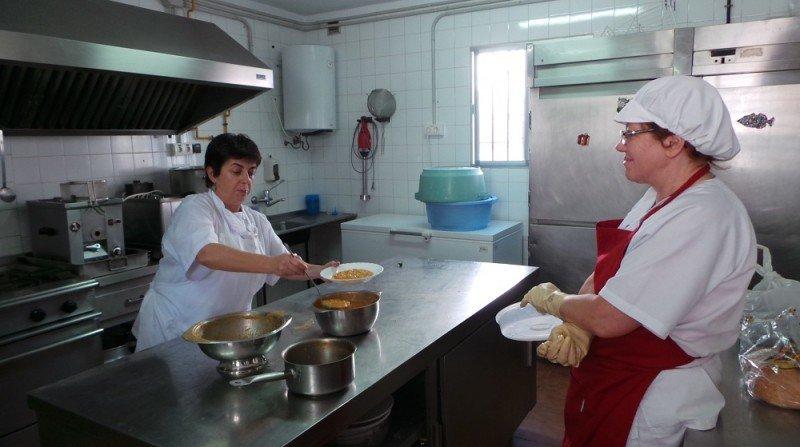 colegio público Gómez Moreno- comedor ecológico, Albaicín