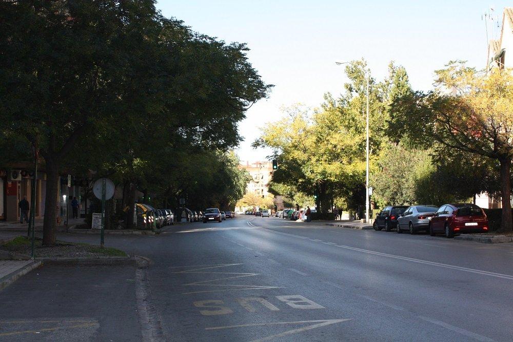 El psoe exige el arreglo de la carretera de m laga de la chana for Piscina municipal la chana granada