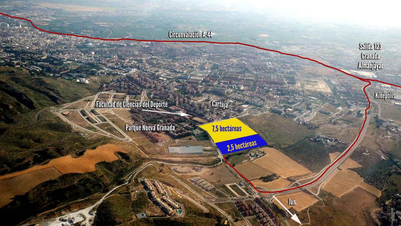 Restos arqueol gicos en la ciudad deportiva del granada cf for Puerta 8 ciudad deportiva