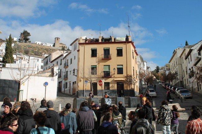 Albaicín, Plaza de la Merced