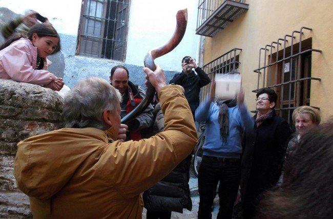 cuerno Shofar, museo sefardí de Granada, Cicerone, Jewish Heritage Tours