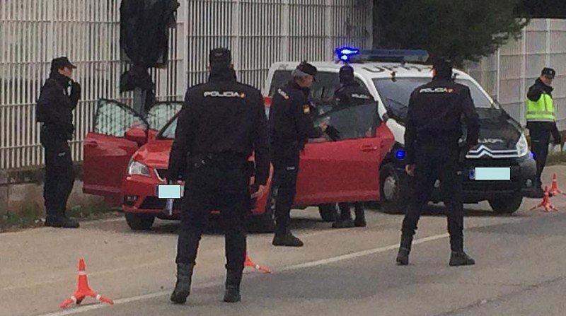 control policial detención zona norte
