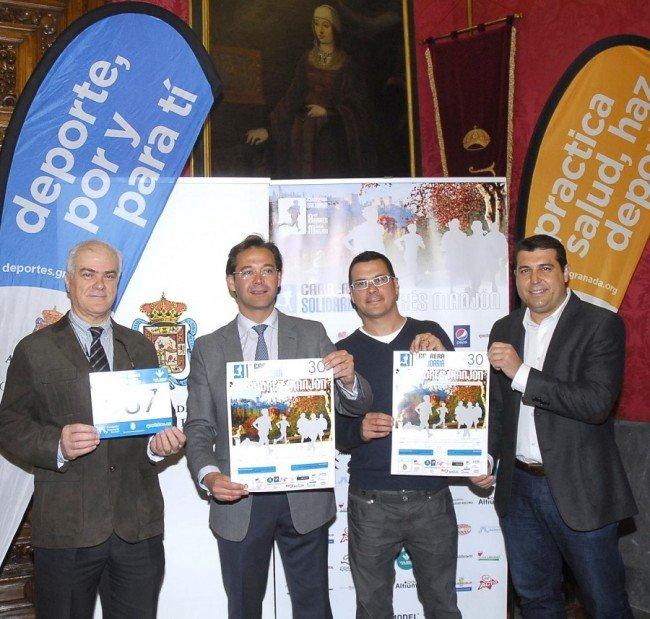 Maratón, carrera solidaria Andrés Manjón, Albaicín, Sacromonte