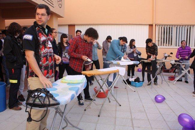 Acción simbólica por la igualdad en el IES Severo Ochoa