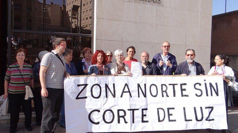 Vecinos del distrito Norte de Granada denuncian ante el juzgado número 3, en funciones de guardia, el pésimo servicio eléctrico para