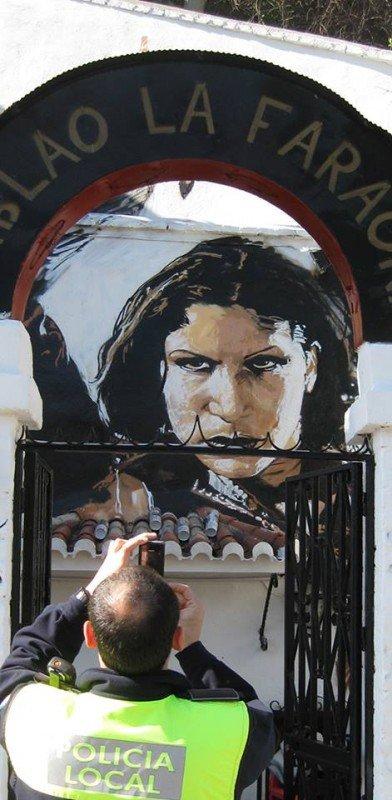 Niño de las Pinturas, Carmen Amaya, la Faraona, zambras