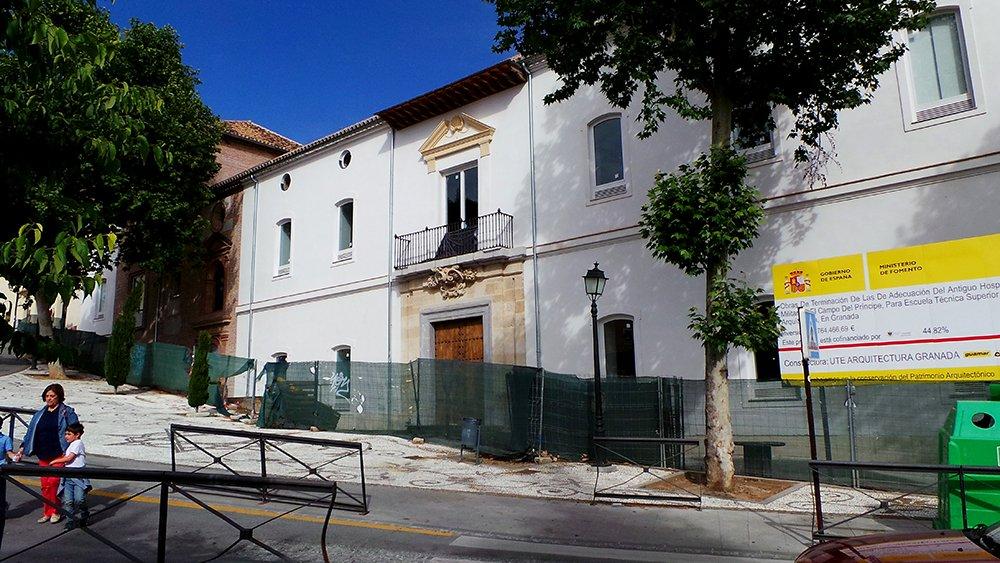 La escuela t cnica de arquitectura cambia la vida del realejo for Escuela tecnica superior de arquitectura