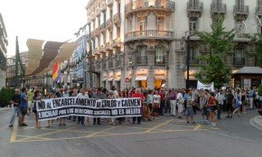 libertadCarlosyCarmen indulto manifestación Granada