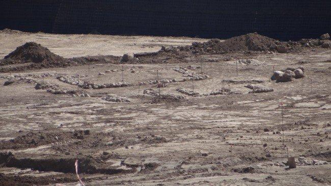restos arqueológicos ciudad deportiva granada cf norte